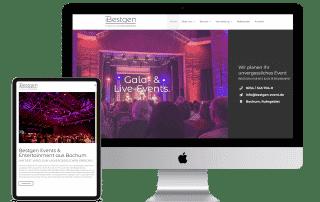 neue Website Bestgen Events & Entertainment